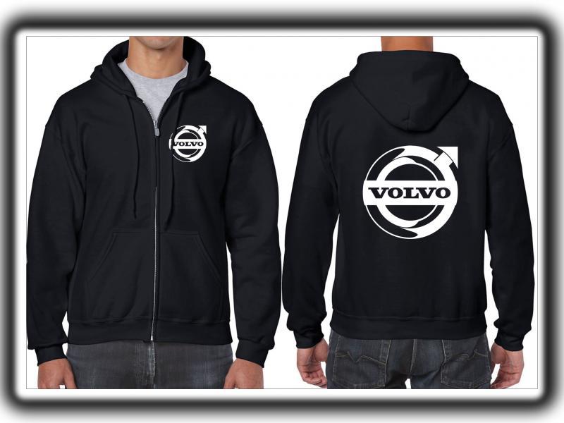 Volvo férfi pulóver (cipzáros)