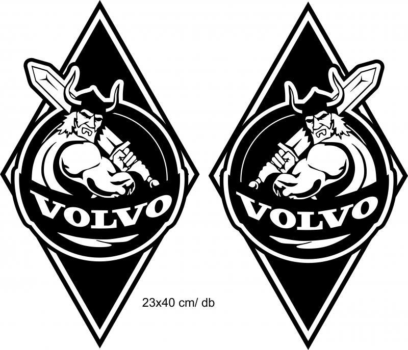 Volvo matrica 2 db