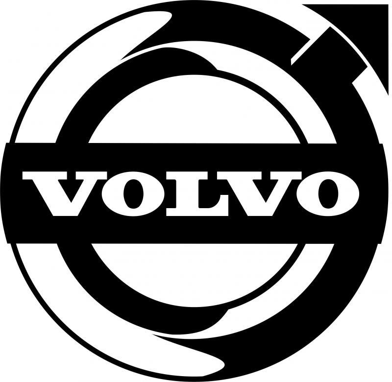Volvo matrica 45x44 cm
