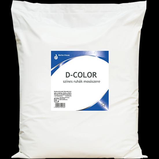 D-Color színes ruhák mosószere, 20 kg