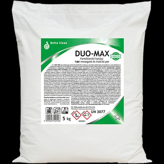 Duo Max  fertőtlenítő hatású kézi mosogató- és tisztítópor 5 kg
