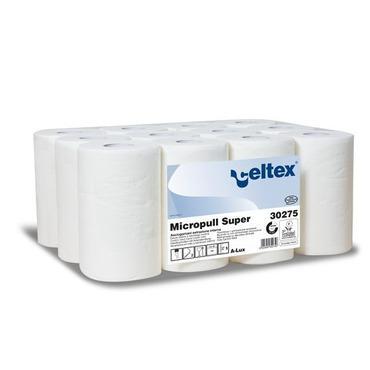Tekercses kéztörlő papír Micropull Super (2 rétegű/12x45 méter)