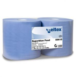 Ipari papírtörlő Superblue Food (3 rétegű, 2x500 lap)