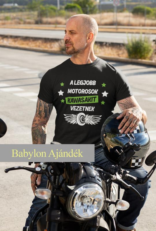 A legjobb motorosok motoros póló