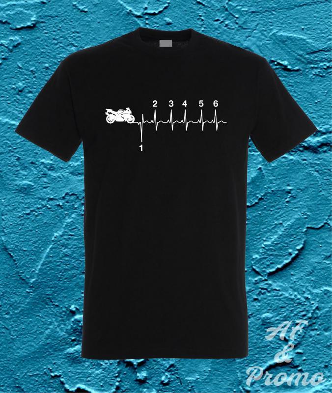 3d4d173a2f Heartbeat férfi póló