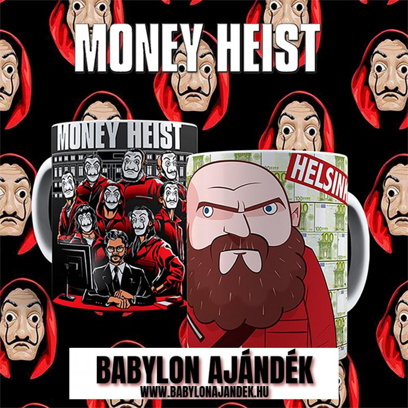 Money Heist  Helsinki bögre