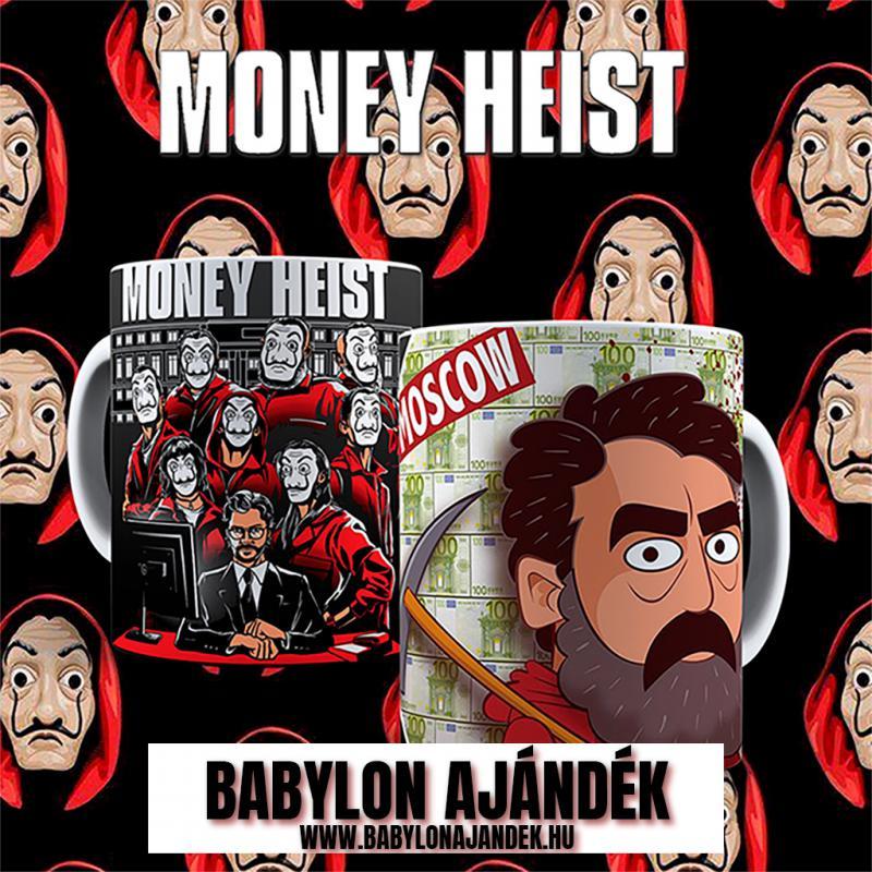 Money Heist  Moscow bögre