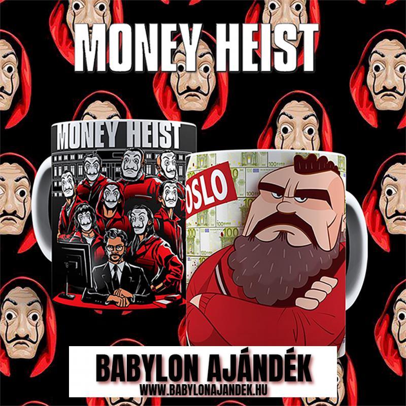 Money Heist  Oslo bögre