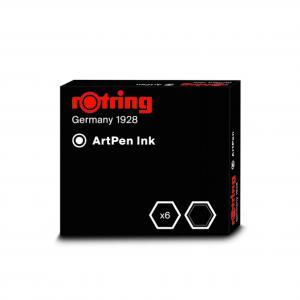 Rotring ArtPen tintapatron; tintaadagoló