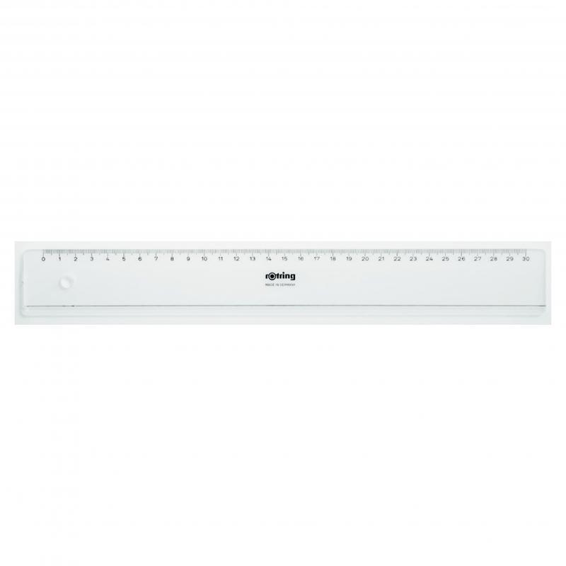 Egyenes vonalzó 30 cm