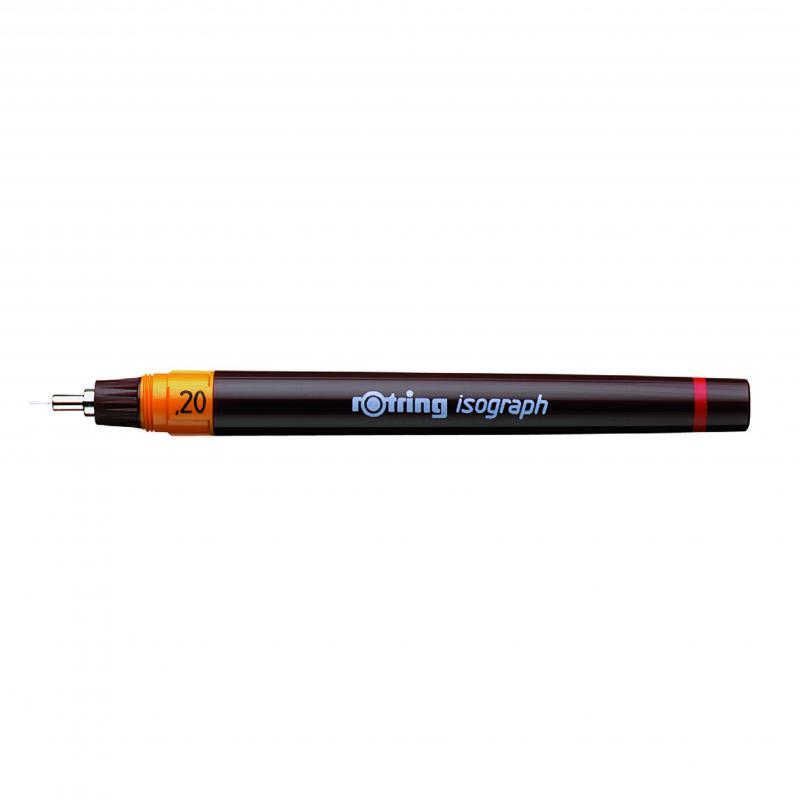 isograph csőtoll 0,2 mm