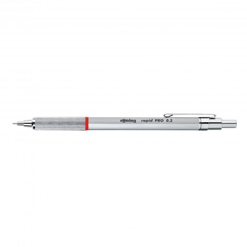 rOtring ceruza ( nyomósirón) Rapid-Pro ezüst 0,5 mm