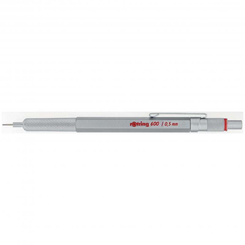 rOtring ceruza (nyomósirón) 600 ezüst 0,5 mm