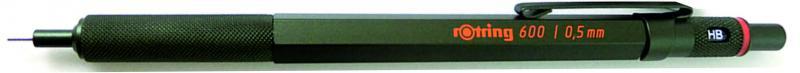 rOtring ceruza (nyomósirón) 600 sötétzöld 0,5 mm