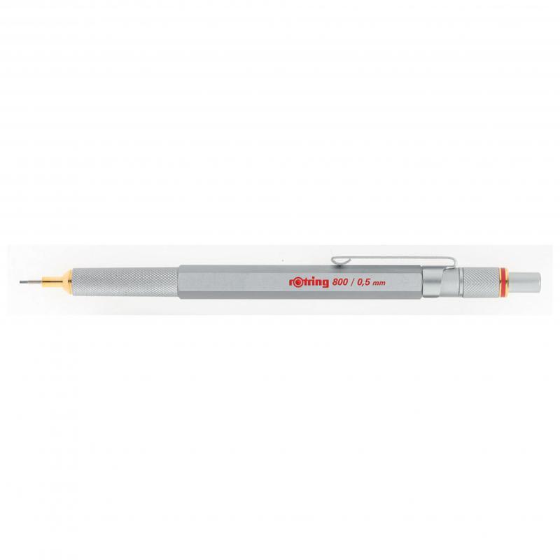 rOtring ceruza (nyomósirón) 800 ezüst 0,5 mm