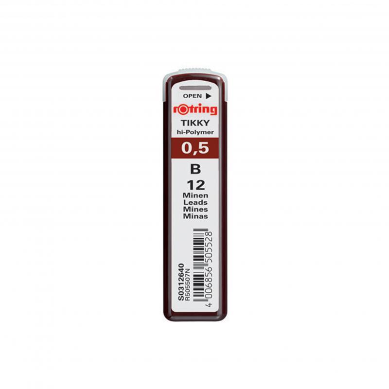 rOtring ceruza (nyomósirón) betét 0,5 mm B