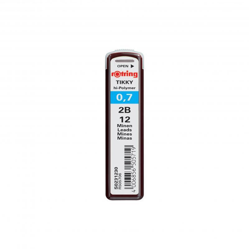 rOtring ceruza (nyomósirón) betét 0,7 mm 2B
