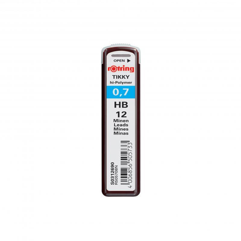 rOtring ceruza (nyomósirón) betét 0,7 mm HB