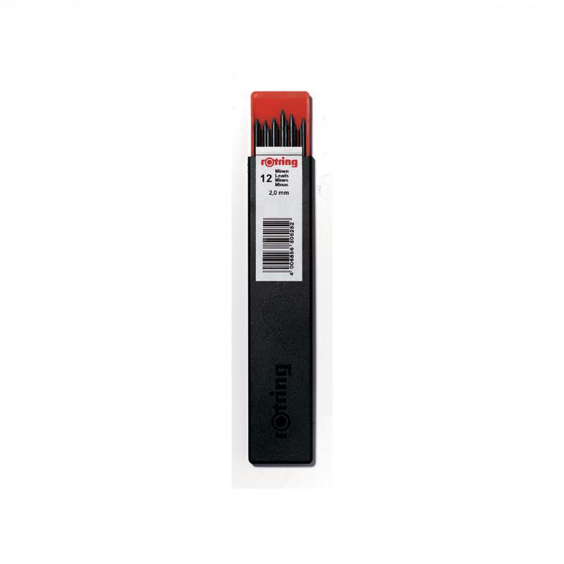 rOtring ceruza (nyomósirón) betét 2,0 mm HB