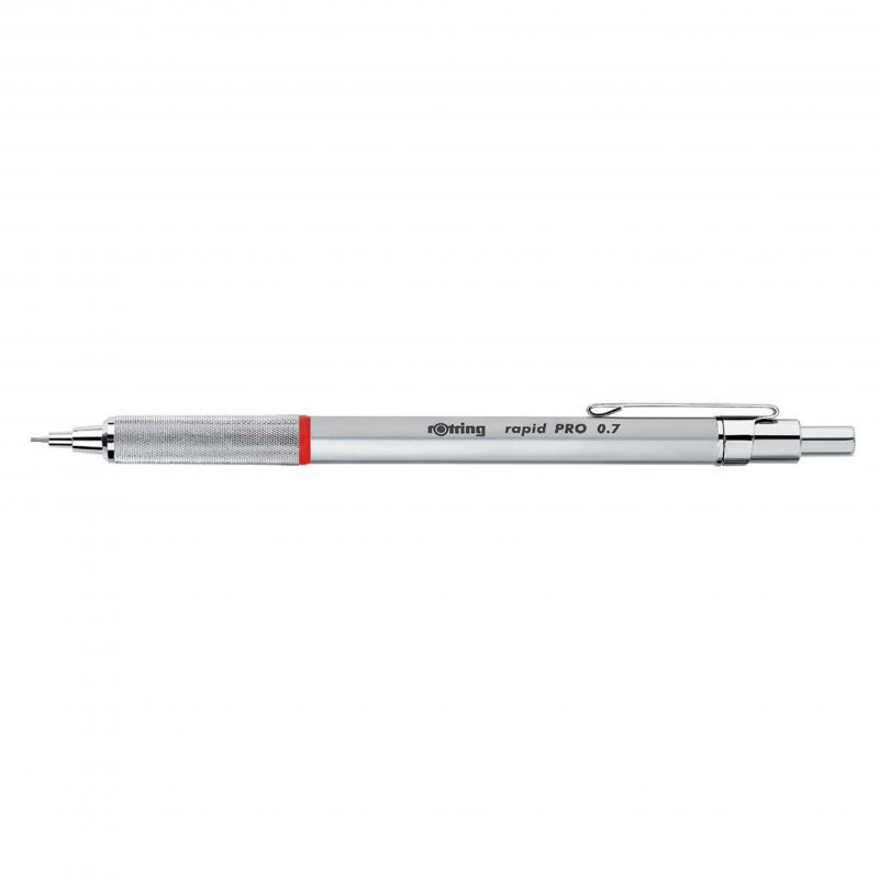 rOtring ceruza (nyomósirón) Rapid Pro ezüst 0,7 mm