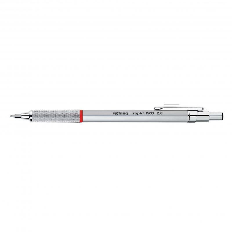rOtring ceruza (nyomósirón) Rapid Pro ezüst 2,0 mm
