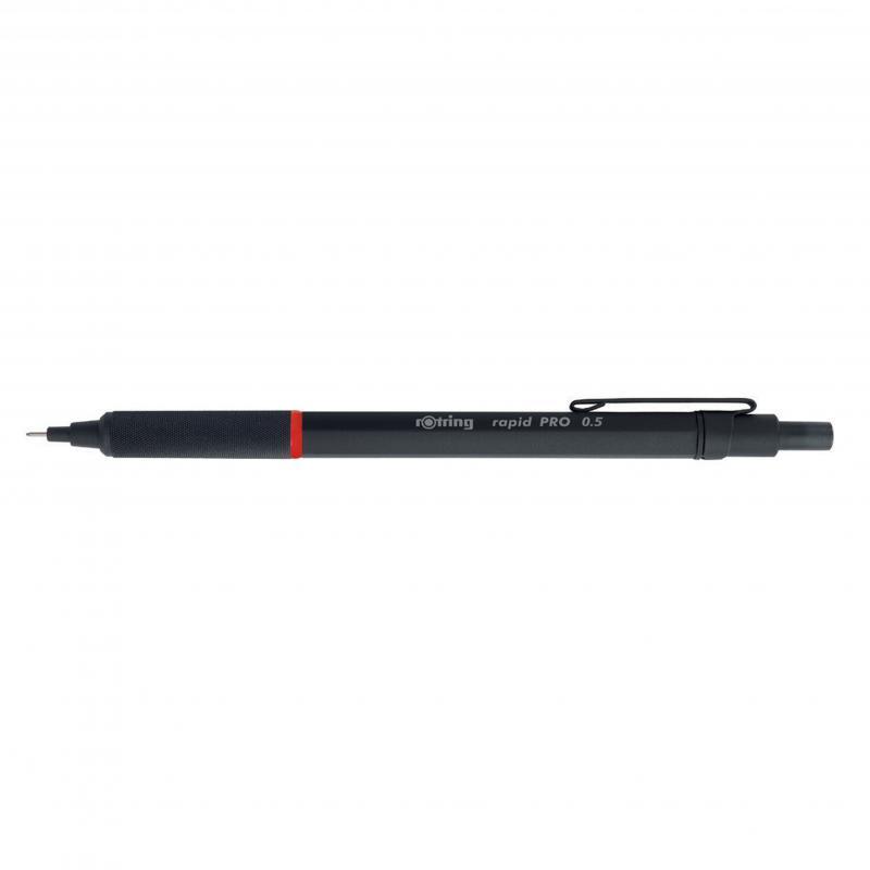 rOtring ceruza (nyomósirón) Rapid Pro fekete 0,5 mm