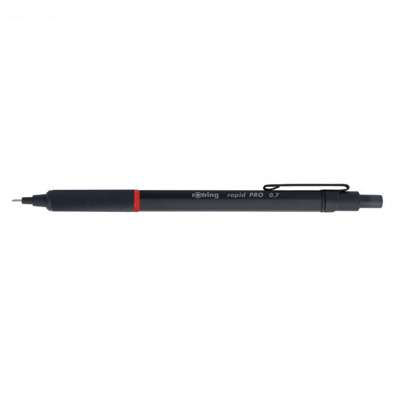 rOtring ceruza (nyomósirón) Rapid Pro fekete 0,7 mm