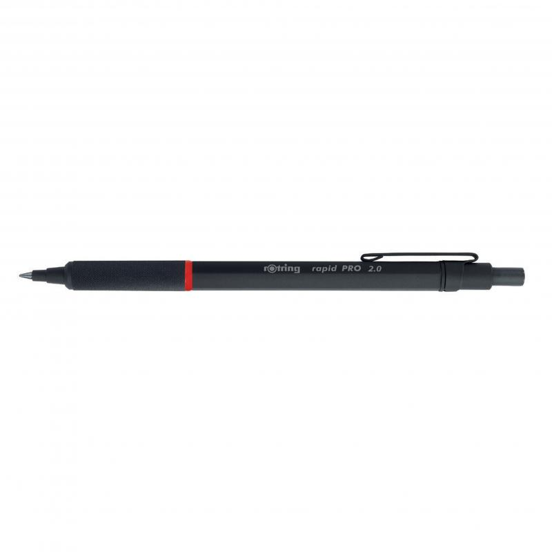rOtring ceruza (nyomósirón) Rapid Pro fekete 2,0 mm