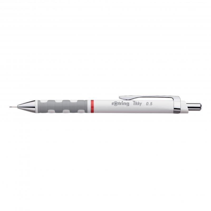 rOtring ceruza (nyomósirón) Tikky fehér 0,7 mm