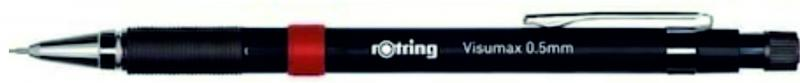 rOtring ceruza (nyomósirón) VISUMAX fekete 0,5 mm
