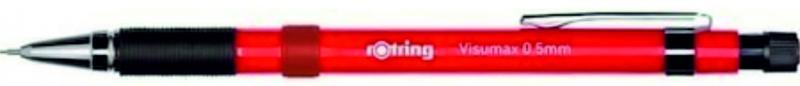rOtring ceruza (nyomósirón) VISUMAX piros 0,5 mm