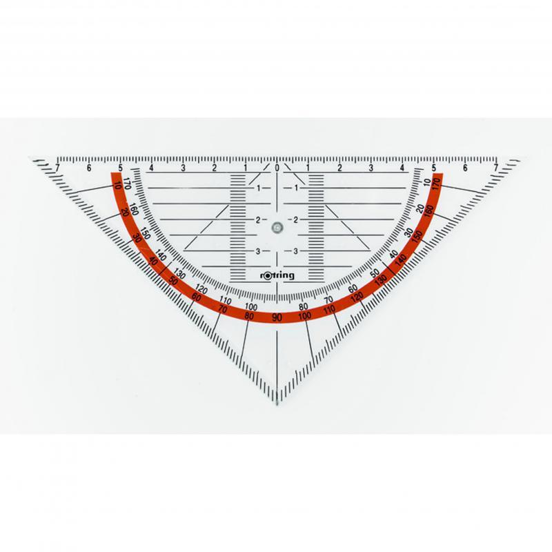 rOtring vonalzó geometriai derékszögű