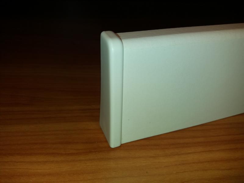 M61 profilhoz bal lezáró elem fehér 2 db/cs
