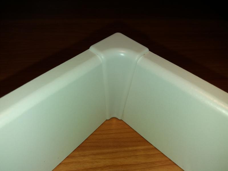 M61 profilhoz belső sarokelem fehér 2 db/cs