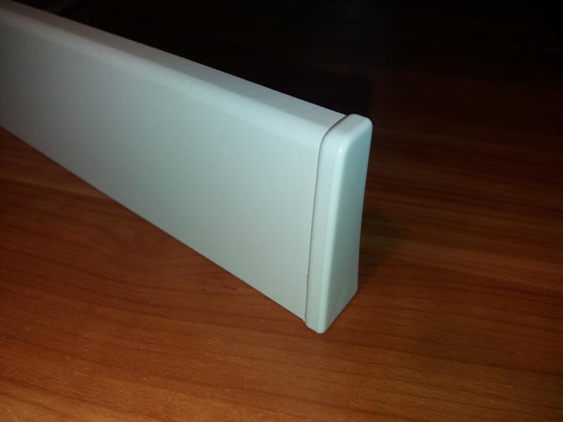 M61 profilhoz jobb lezáró elem fehér 2 db/cs