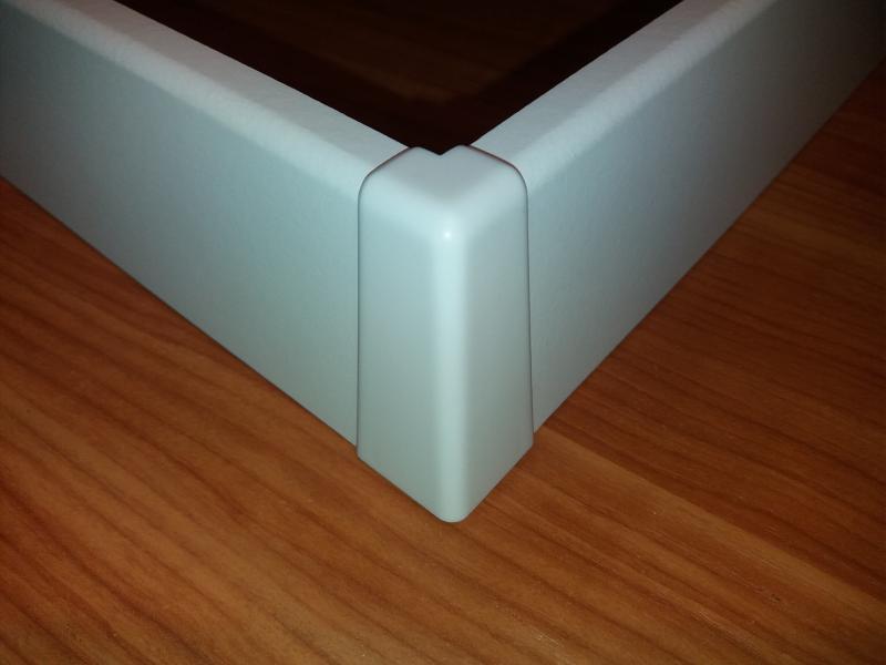 M61 profilhoz külső sarokelem fehér 2 db/cs