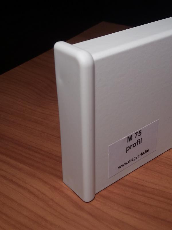 M75 profilhoz bal véglezáró 2 db / cs