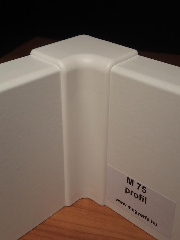 M75 profilhoz belső sarokelem