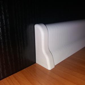 D profilhoz bal lezáró elem fehér