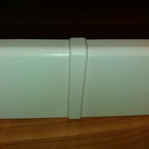 M61 profilhoz toldó elem fehér 2 db/cs