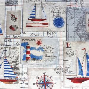 Tengerész textil