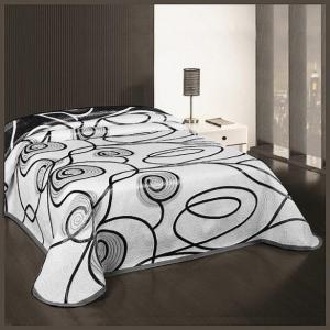 SCARLETT, 902 szürke ágytakaró