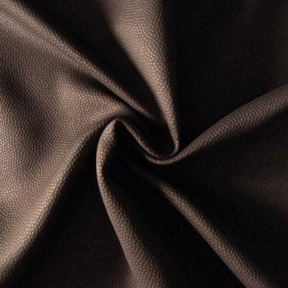 TRITON, bőrhatású dimout függöny, csokoládé