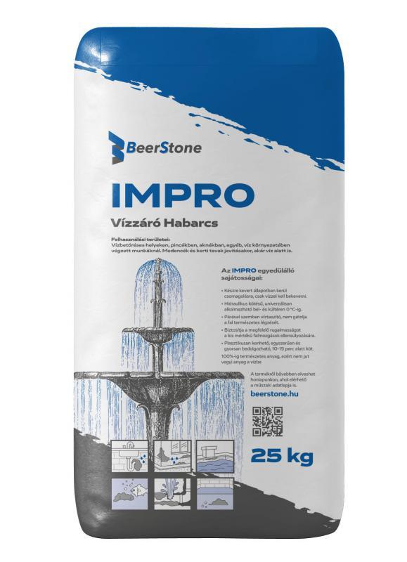 BeerStone IMPRO -  Vízzáró Habarcs