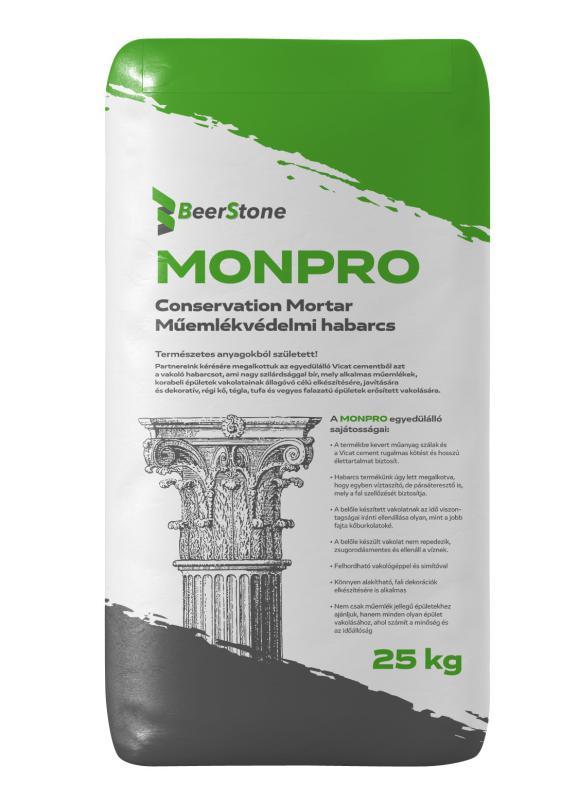 BeerStone MONPRO - Műemlékvédelmi Habarcs