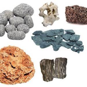 Természetes sziklák, kövek