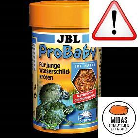 JBL PROBABY YOUNG TURTLES - TELJESÉRTÉKŰ TÁP FIATAL VÍZITEKNŐSÖKNEK - 100 ML