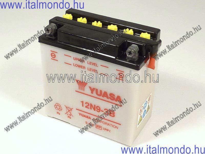 akkumulátor 12N9-3B YUASA