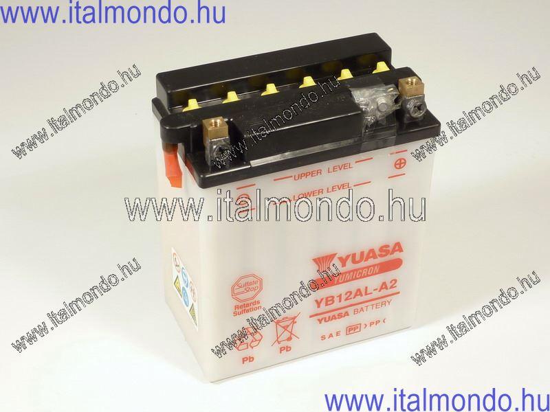 akkumulátor YB12AL-A2 YUASA