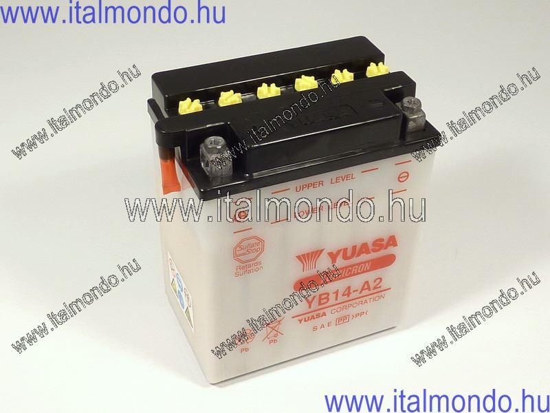 akkumulátor YB14-A2 YUASA